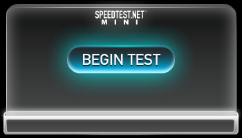 SpeedTest.net Mini requires at least version 8 of Flash. Please update your client!